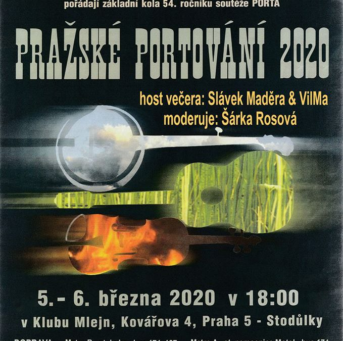 Pražské oblastní kolo festivalu PORTA 2020 & VilMa