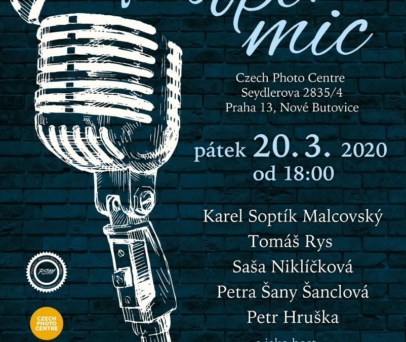 Trifot Open Mic v Czech Photo Centre – odložen